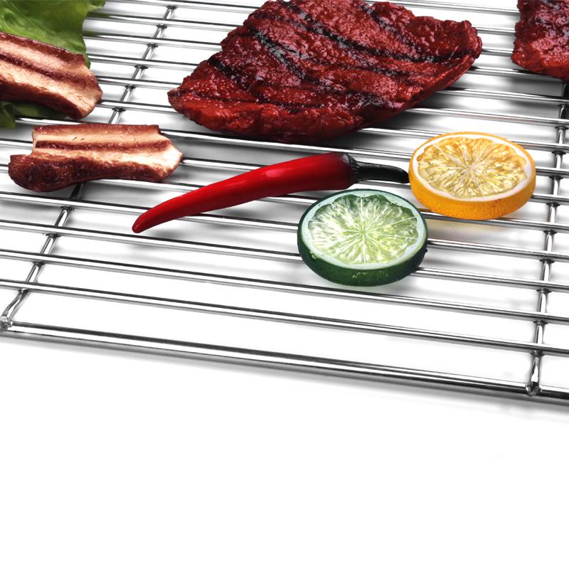 grillrost aus edelstahl eckig 54 cm x 40 cm grillgitte67. Black Bedroom Furniture Sets. Home Design Ideas