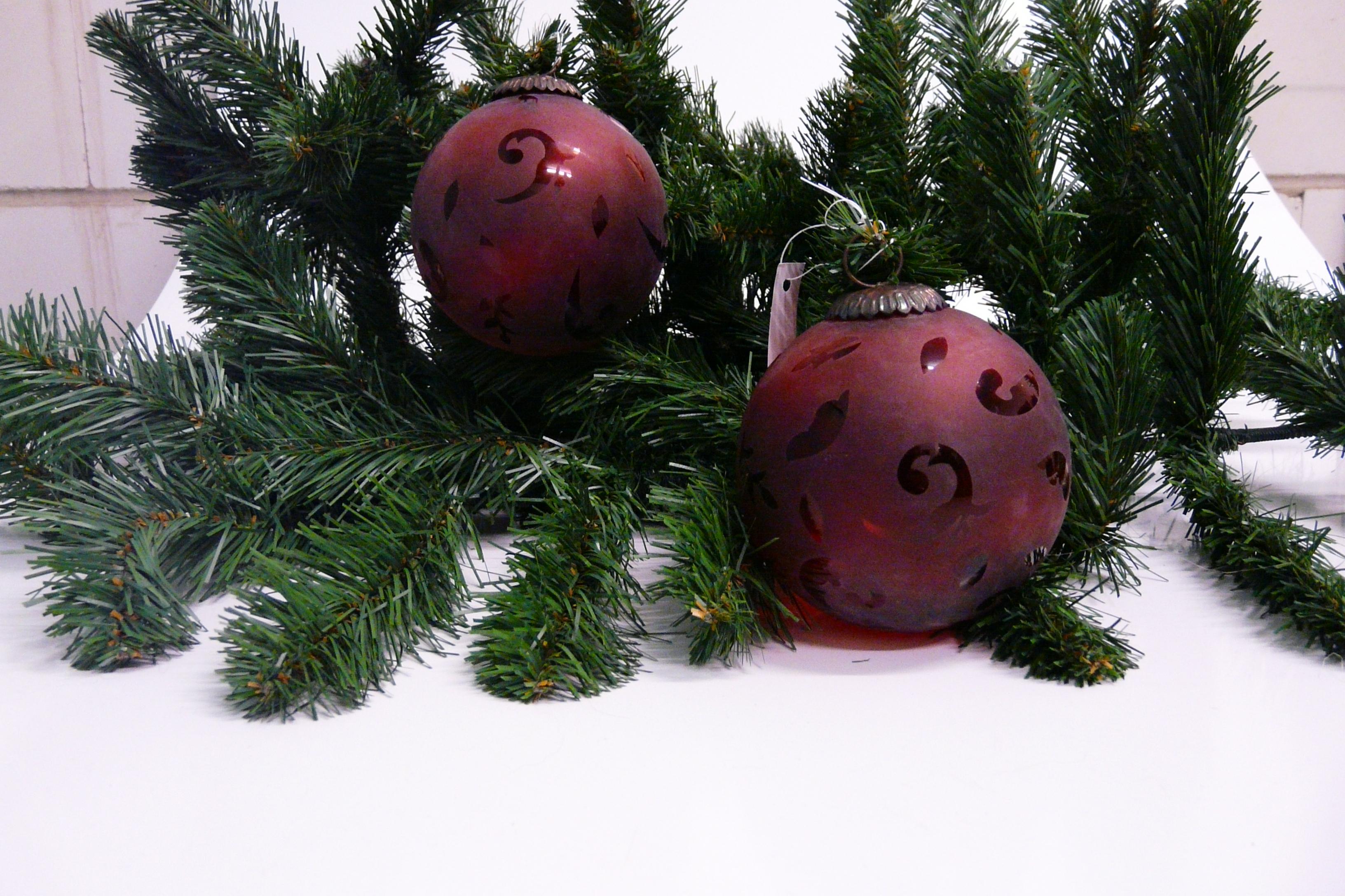 Weihnachtsdeko Glas Weihnachtskugel Weihnachtskugeln ...